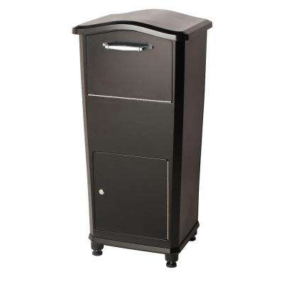 Elephantrunk Parcel Drop Box in Black