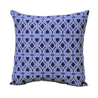 Sky Trellis Square Outdoor Throw Pillow