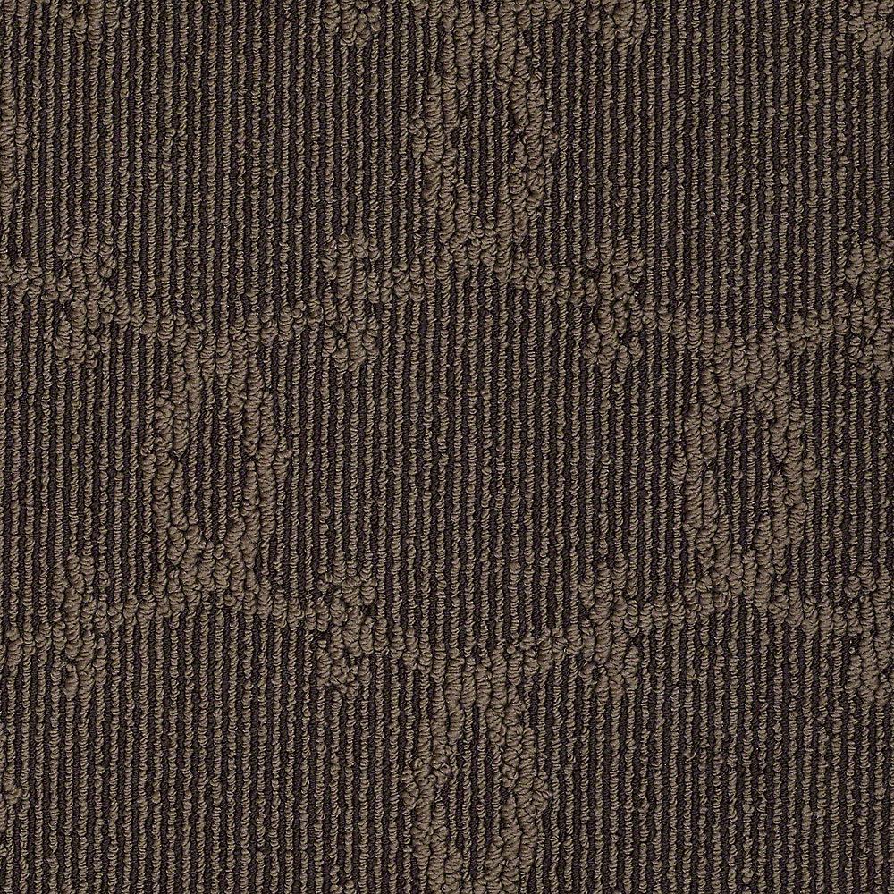 Carpet Sample - Manhattan - In Color Tree Stump 8 in. x 8 in.