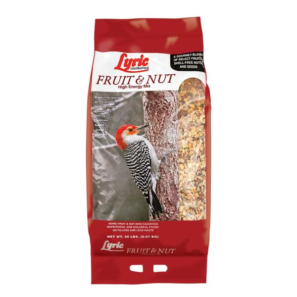 20 lbs. Fruit and Nut High Energy Wild Bird Mix