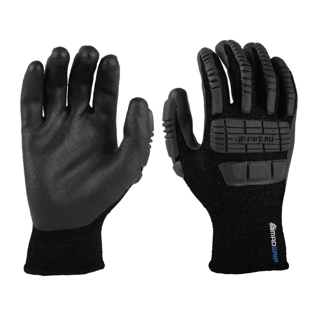Ergo XL Black Impact Thermal Glove, Blacks