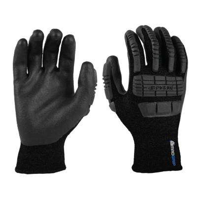 Ergo X-Large Black Impact Thermal Glove