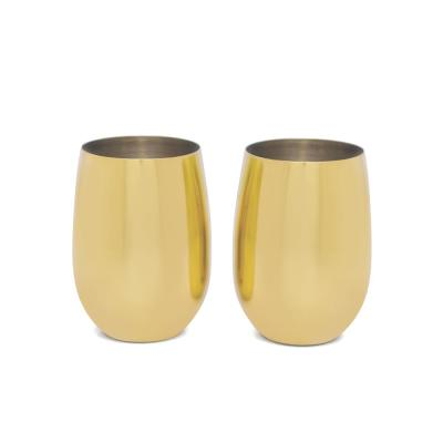 16 oz. Gold Tumbler (2-Pack)
