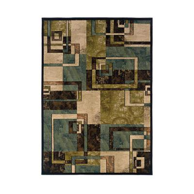 Howard Multi-Colored 5 ft. x 8 ft. Abstract Geometric Indoor Area Rug
