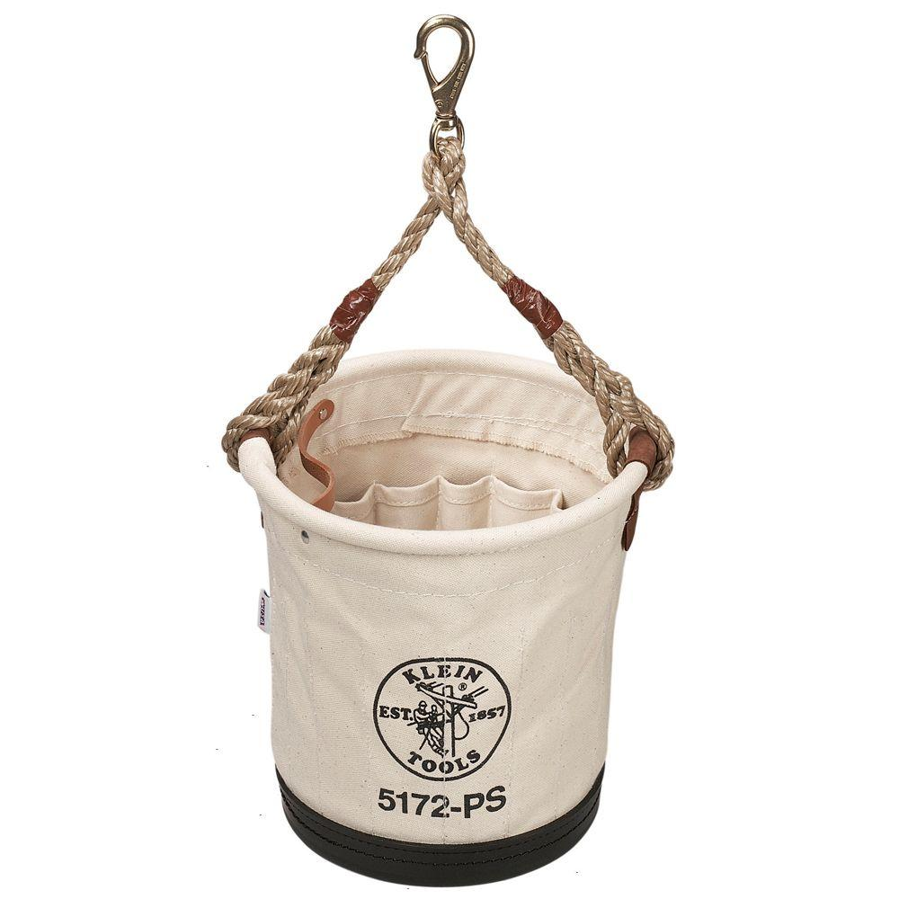Klein Tools 12 in. Tapered Wall Bucket