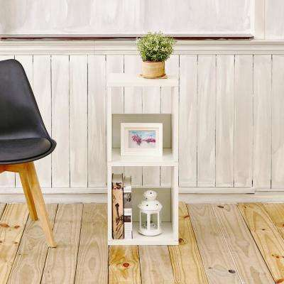 Duo Eco zBoard Tool Free Assembly White Open Bookcase