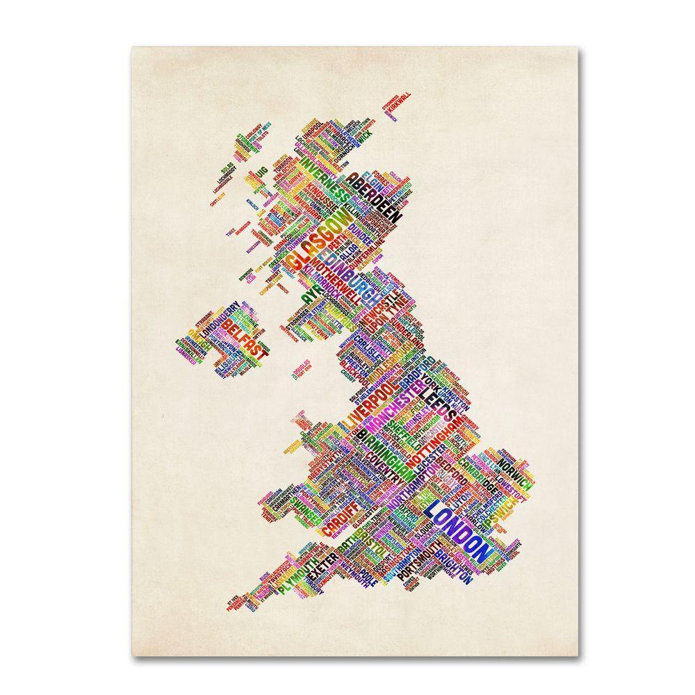 Trademark Fine Art 19 in. x 14 in. United Kingdom I