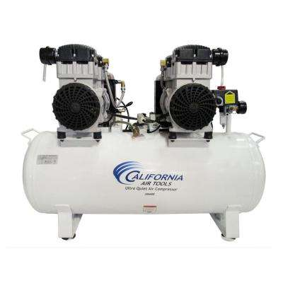 20 Gal. 4.0 HP Ultra Quiet and Oil-Free Electric Stationary Air Compressor with Air Dryer and Auto Drain