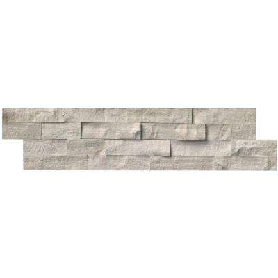 Classico Oak Ledger Panel 6 in. x 24 in. Natural Marble Wall Tile (10 cases / 60 sq. ft. / pallet)