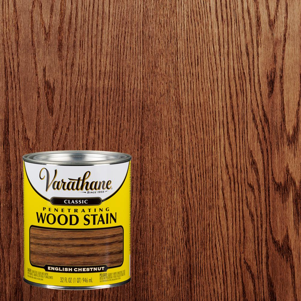 Varathane 1 qt. English Chestnut Classic Wood Interior Stain