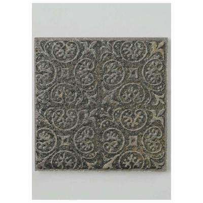Exceptional Deco Calzada Ardesia Porcelain Floor And Wall Tile   3 In. X 4 In.