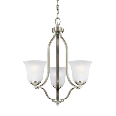 Progress Lighting Gather 20 5 In 5 Light Brushed Nickel Chandelier