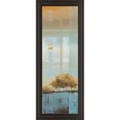 "18 in. x 42 in. ""Window on the Word I"" by Carol Robinson Framed Printed Wall Art"
