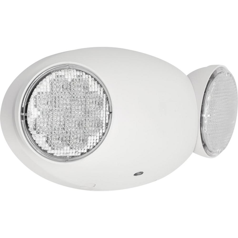 Progress Lighting Pe2eu Collection 1 Watt White Integrated Led Emergency Light