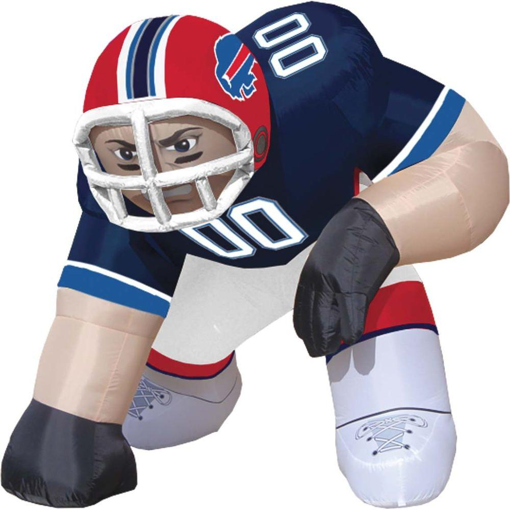 null 5 ft. Inflatable NFL Buffalo Bills Player Bubba - $99 VALUE
