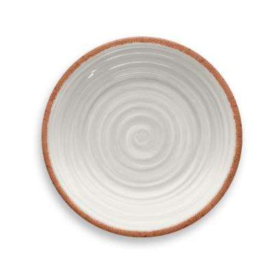 Rustic Swirl Ivory Salad Plate (Set of 6)