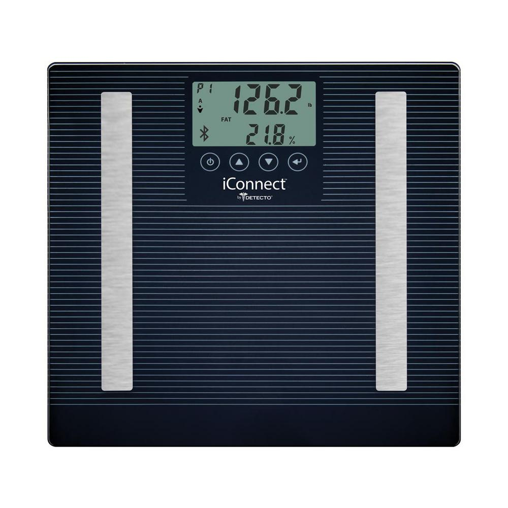 Detecto iConnect Smart Digital 8-in-1 Body Fat Scale
