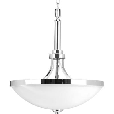 Topsail Collection 3-Light Polished Chrome Pendant