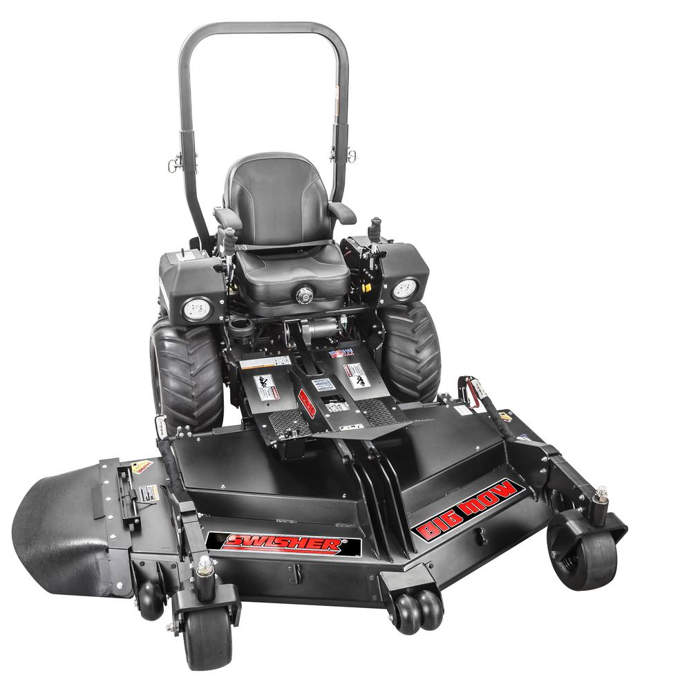 Swisher Big Mow 66 in. 31-HP Kawasaki Commercial Pro Front Mount Zero Turn Riding Mower