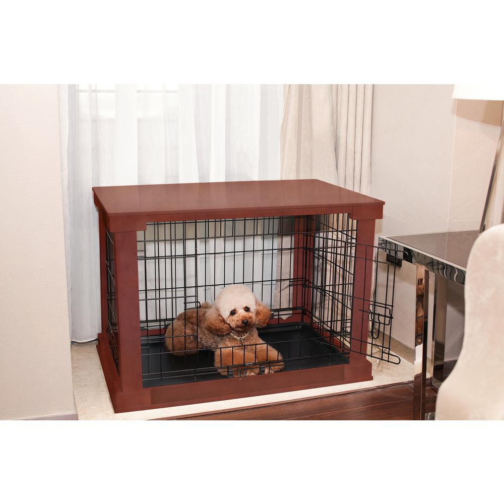 Zoovilla Dog Crate With Mahogany Cover Large Mplc001 The Home Depot,Best Humidifier For Bedroom With Oil Diffuser
