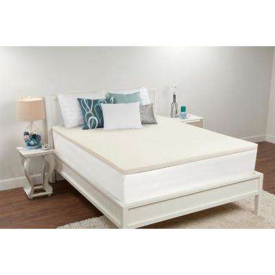 1.5 in. Twin Memory Foam Mattress Topper