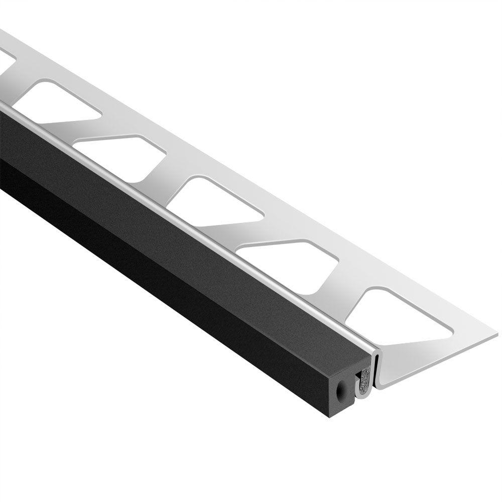 Dilex-KSA Stainless Steel with Black Insert 17/32 in. x 8 ft.