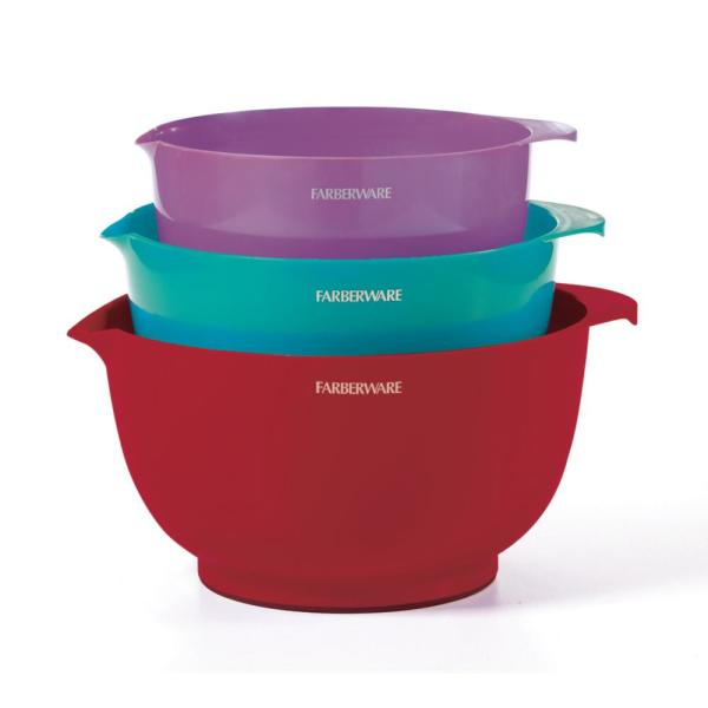 Farberware 3-Piece Classic Mixing Bowls