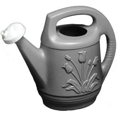 2 Gal. Peppercorn Promo Watering Can with Rotating Nozzle