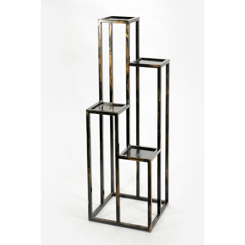 Ore International 4 Tier Cast Iron Plant Stand
