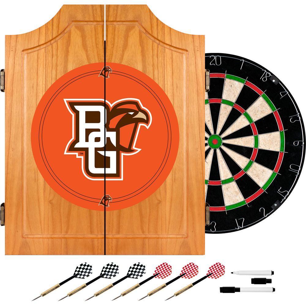 Bowling Green 20.5 in. Wood Dart Cabinet Set