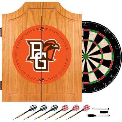 Bowling Green 20.5 in. Wood Dart Cabinet Set