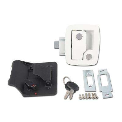 Bauer RV Entry Door Lock, White
