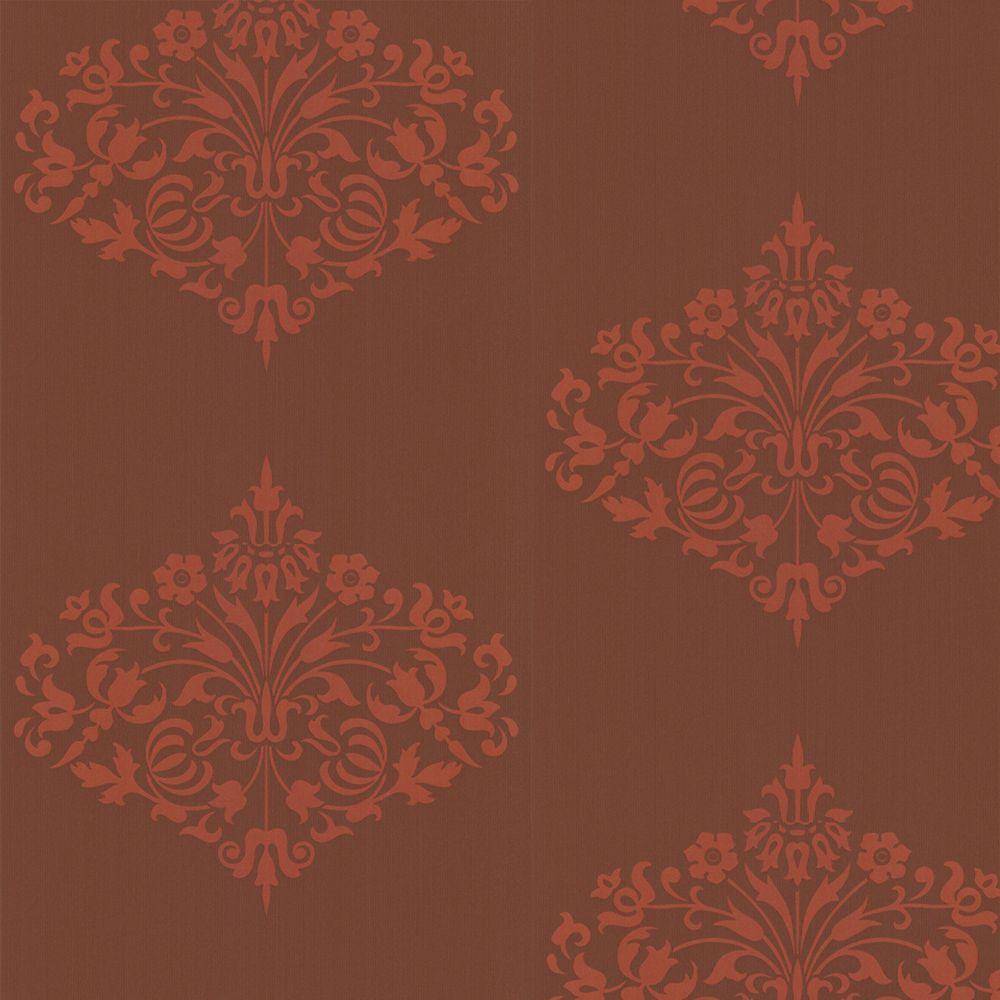 Graham & Brown 56 sq. ft. Fountain Red Wallpaper