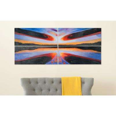 """38 in. x 16 in. """"Sailors Paradise"""" Wall Art"""