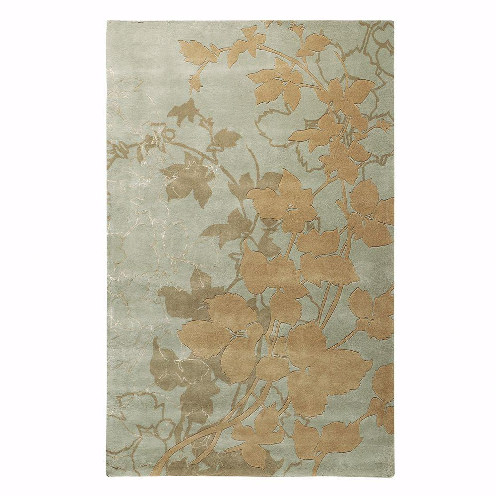 Home Decorators Collection Arcadian Seafoam 3 ft. 6 in. x 5 ft. 6 in. Area Rug
