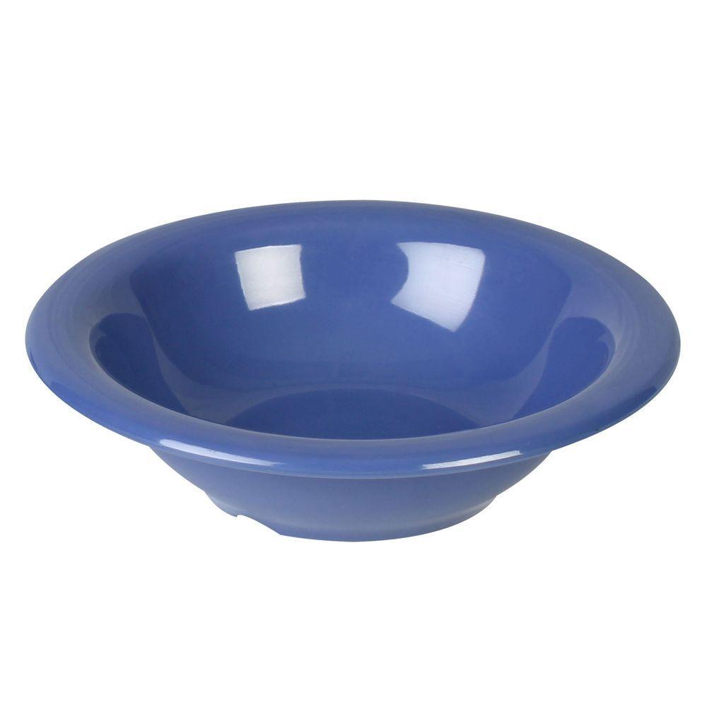 Coleur 15 oz., 7-1/4 in. Soup Bowl in Purple (12-Piece)