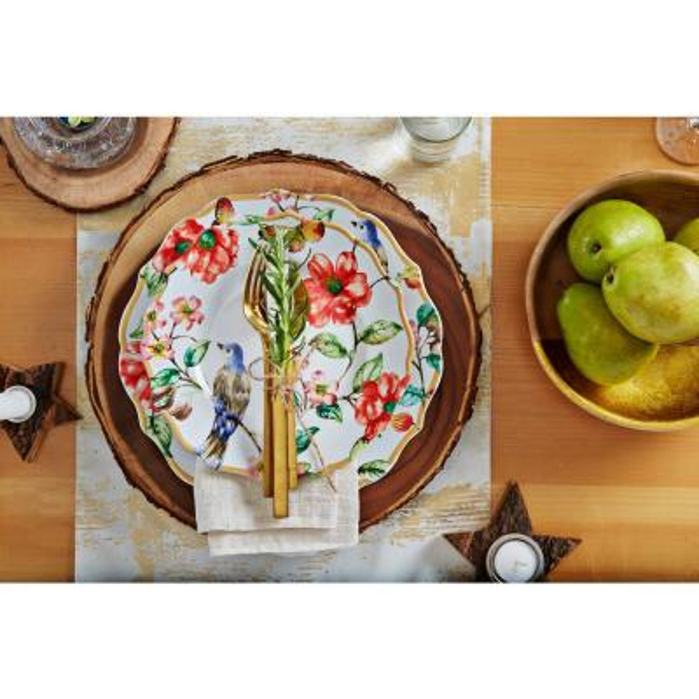 Ambri White 16-Piece Dinnerware Set