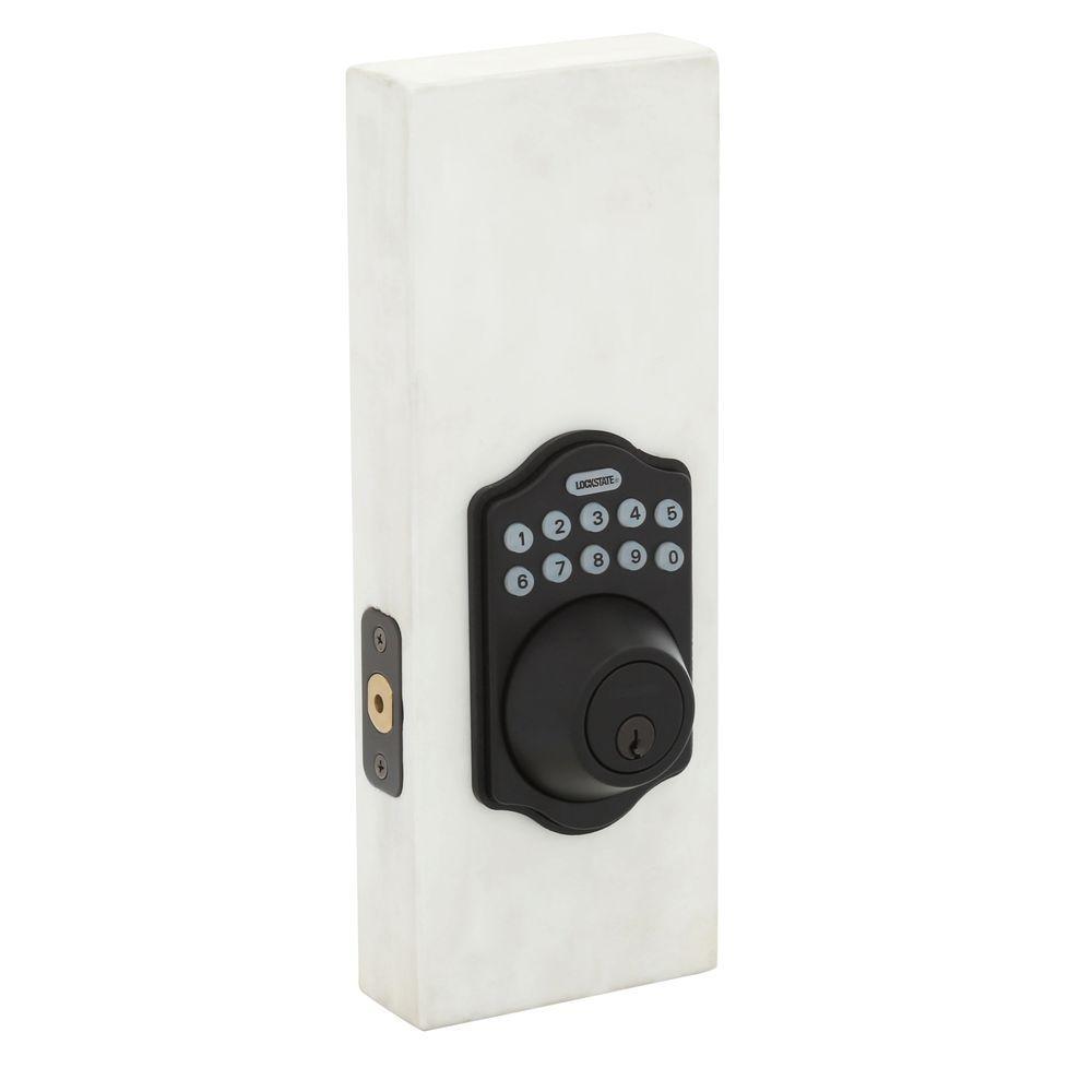 Electronic Keypad Keyless Single Cylinder Oil Rubbed Bronze Deadbolt Lock