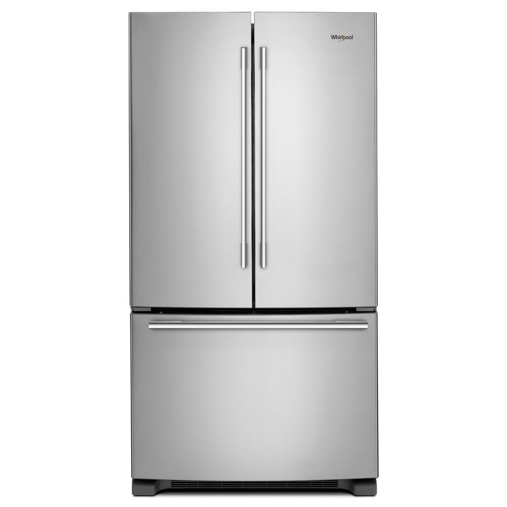 Whirlpool 22 cu. ft. French Door Refrigerator in Fingerprint Resistant Stainless Steel