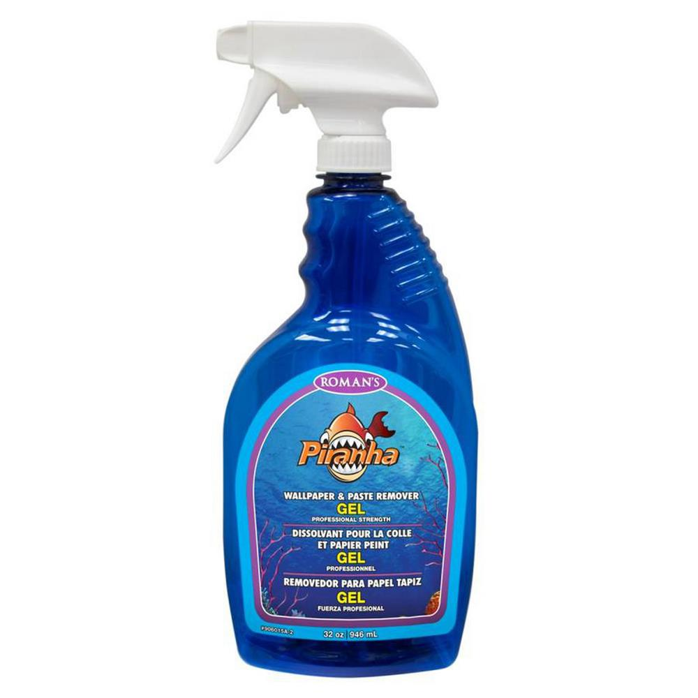 Roman Piranha 32 oz. Gel Paste Remover with Sprayer