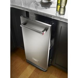 KitchenAid 15 in. Built-In Trash Compactor in Stainless ...