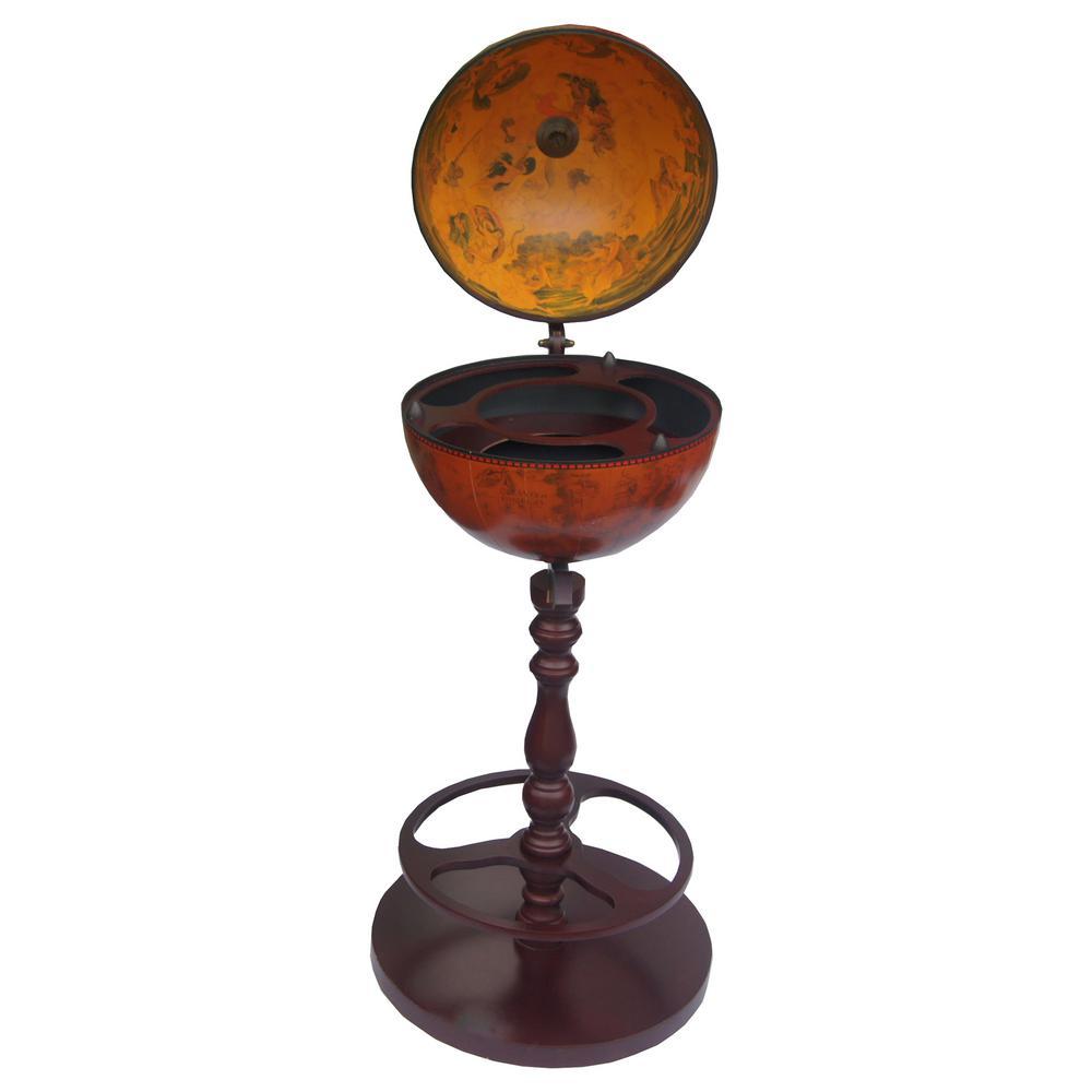 Roma 13 in. Bar Globe