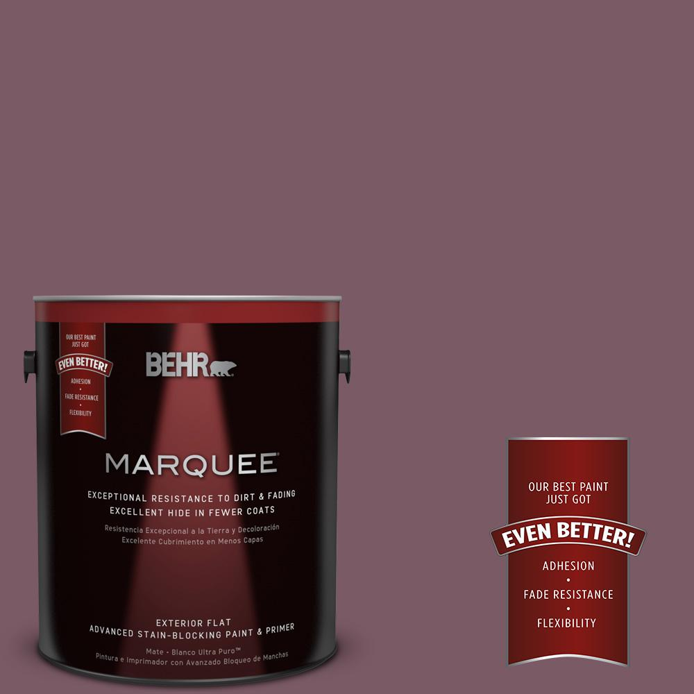 BEHR MARQUEE 1-gal. #ICC-84 Simply Elegant Flat Exterior Paint