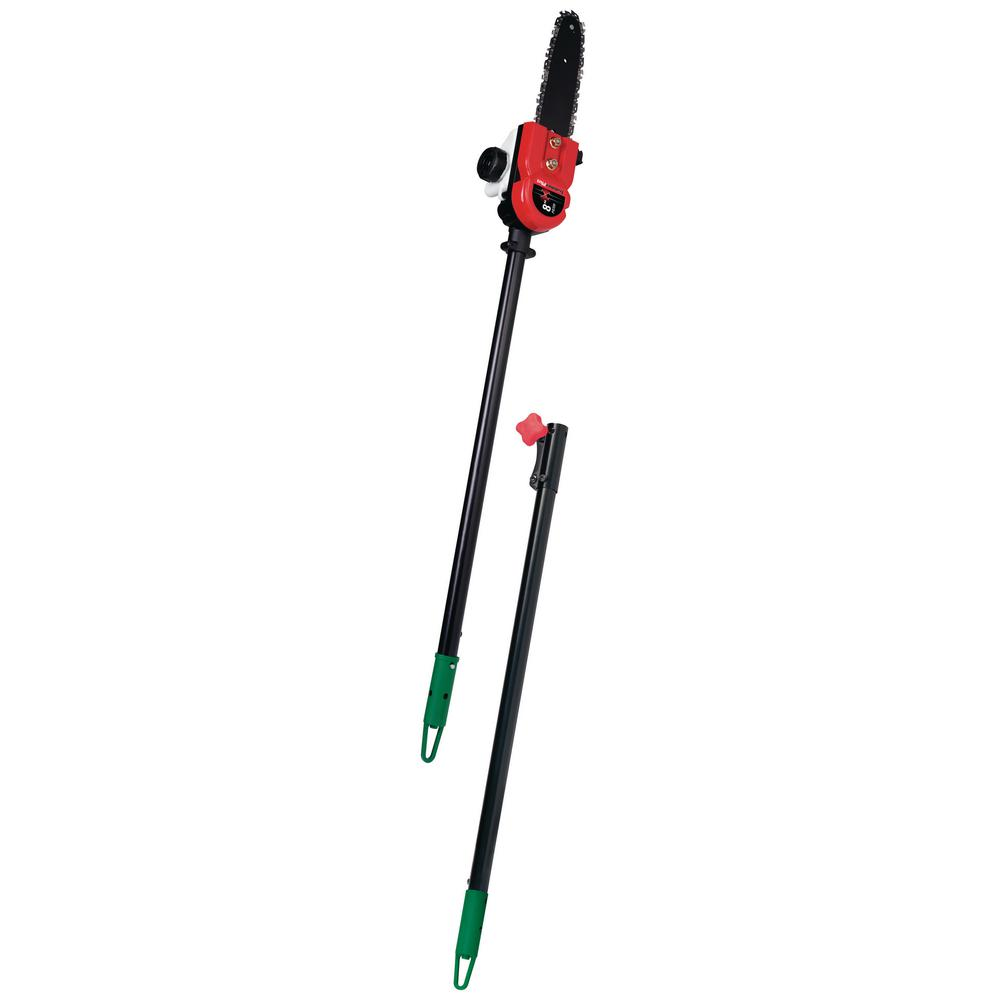 TrimmerPlus Add-On 8 in. Pole Saw Attachment with Extension Pole