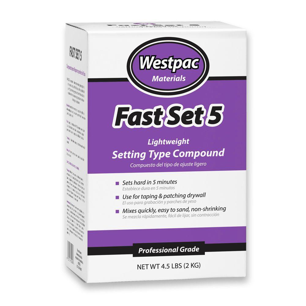 Westpac Materials 4.5 lb. Fast Set 5 Lite Setting-Type Compound
