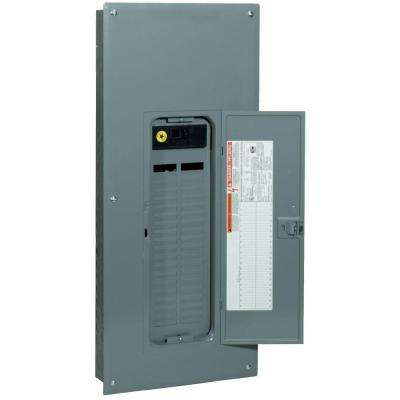 QO 150 Amp 42-Space 42-Circuit Indoor Main Breaker Plug-On Neutral Load Center with Cover