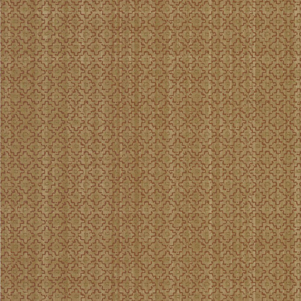 The Wallpaper Company 8 in. x 10 in. Beige Geometric Weave Wallpaper Sample-DISCONTINUED