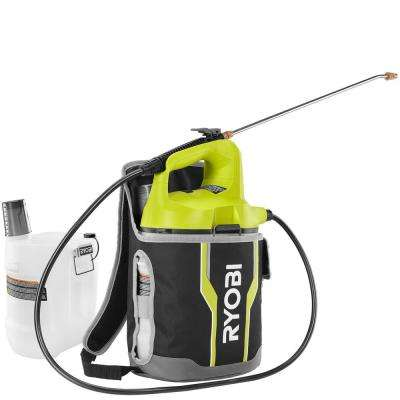 ONE+ 18-Volt 2 Gal. Lithium-Ion Cordless Chemical Sprayer and Holster with Extra Tank (Tool-Only)