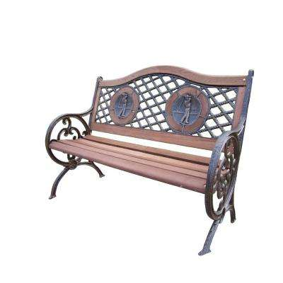 Double Golfer Patio Bench