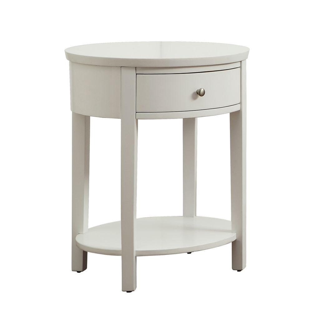 home decorators collection white storage end table